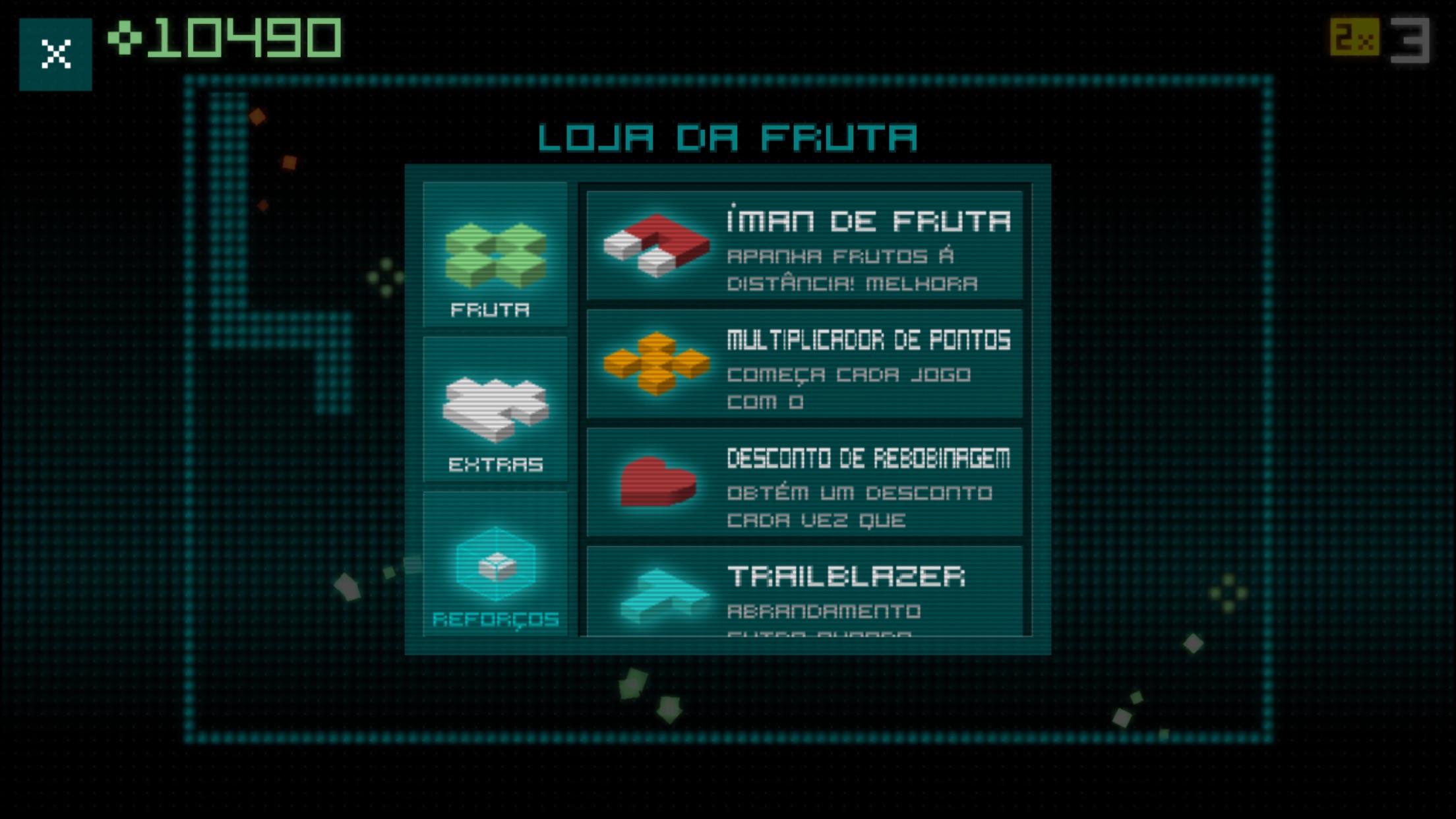 Screenshot do app Snake Rewind