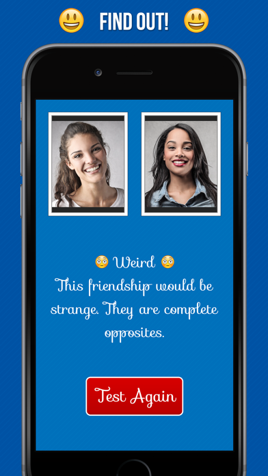 Friendship Calculator - Best Friends Forever Compatibility Test - 窓用