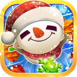 Snowman Blast Mania - Deluxe Christmas Match 3 Game
