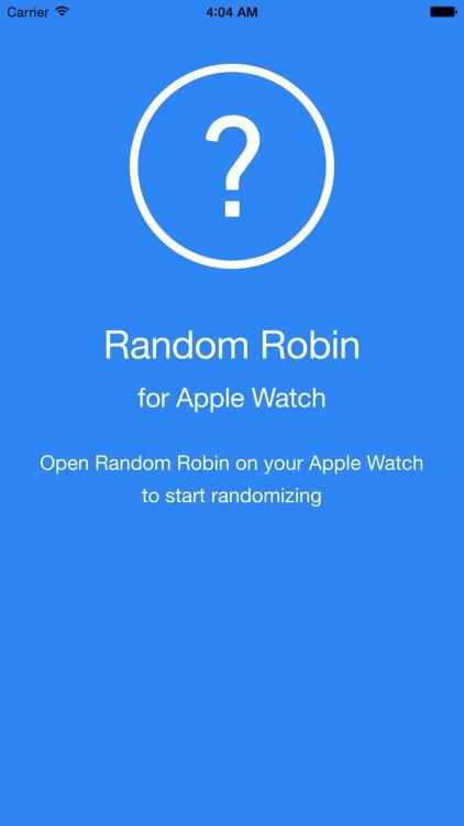 Random Robin - Randomizer