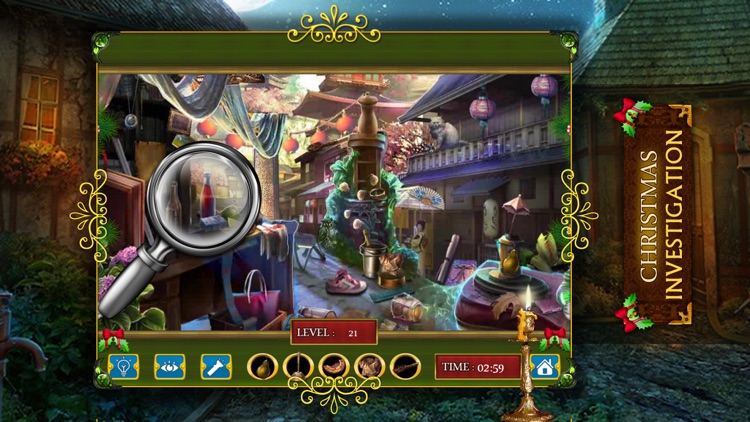 Christmas Investigation : Hidden Object games for free screenshot-4