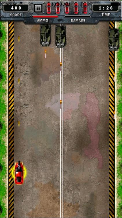 Car Race : A Shooting car racing screenshot-3