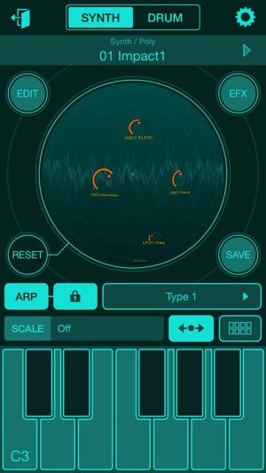 Yamaha Synth Book Screenshot