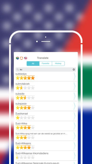 Offline Afrikaans to English Language Dictionary screenshot three