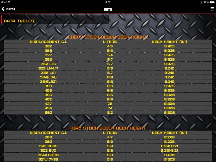 """Engine ToolBox Calculator """"for iPad"""" screenshot-4"""