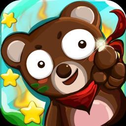 熊熊出动-火线追击,可爱又好玩的全民扫射游戏