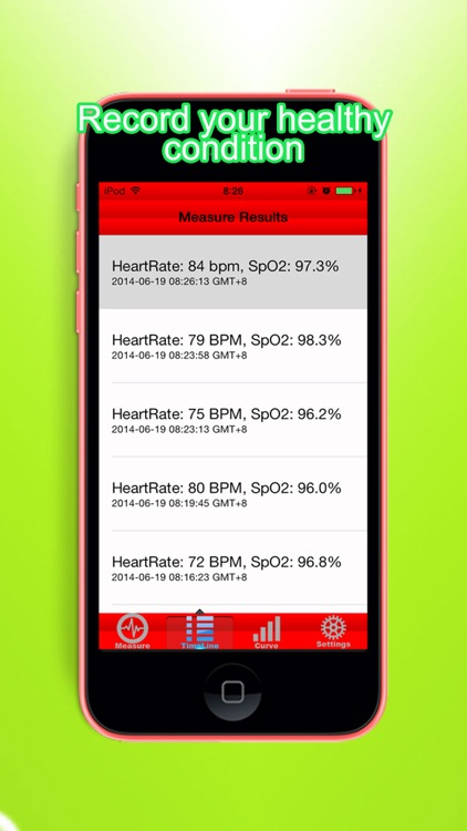 Pocket Oximeter & Heart Rate Monitor screenshot-3