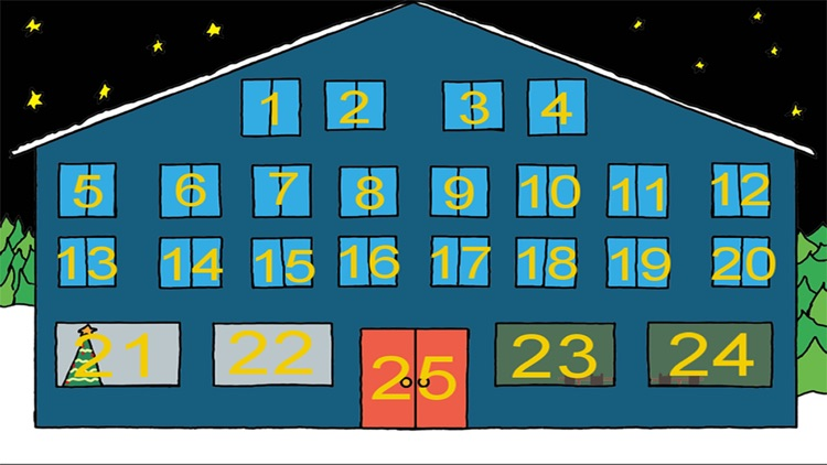 Birth of Jesus Advent Calendar Pro