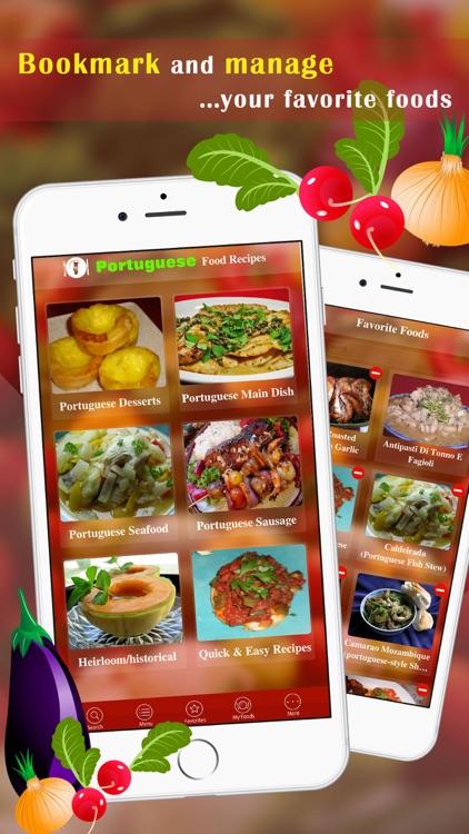 Portuguese Food Recipes screenshot-3