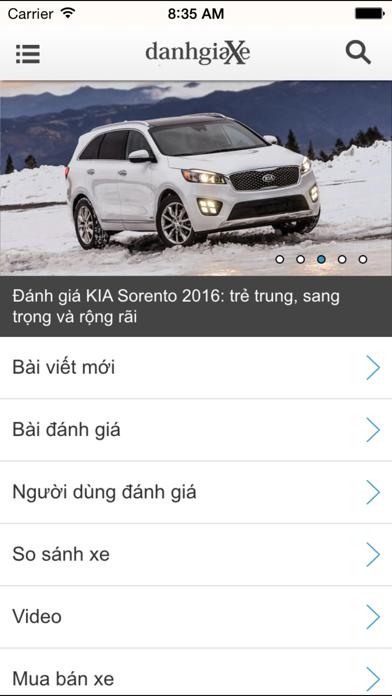 DanhGiaXe - Đánh Giá Xe screenshot one