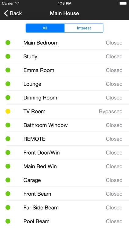 House Alarm - Paradox System screenshot-3