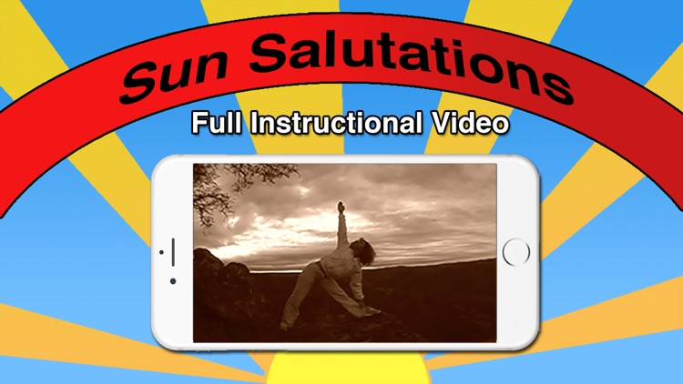 Sun Salutation Video Yoga App with Karen Barbarick