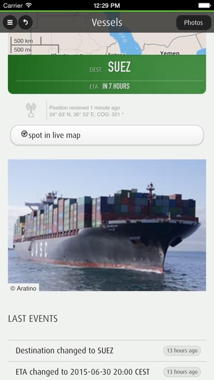 FleetMon Mobile - live ships: AIS vessel tracking and ship finder screenshot-3