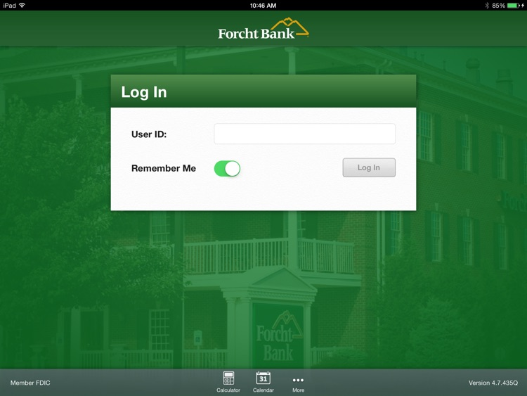 Forcht Bank Mobile Banking for iPad screenshot-1