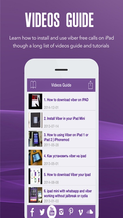 How To For Viber On iPad by Asmae Boudraa