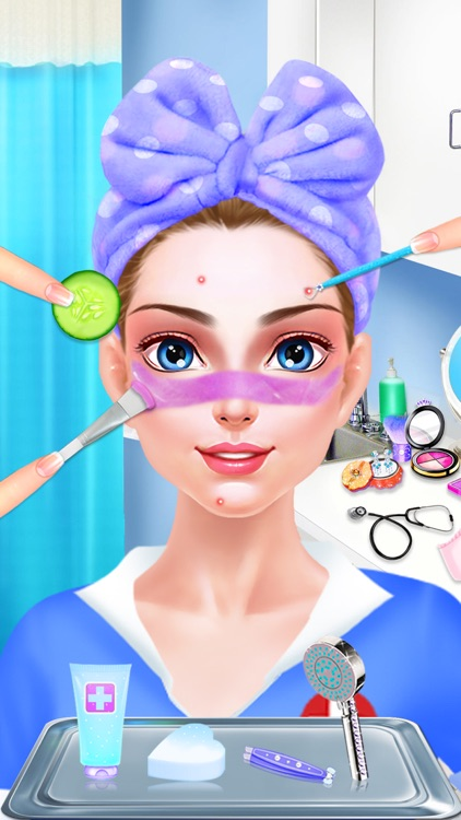 Nurse & Newborn Baby - Hospital Makeover & Dress Up screenshot-3