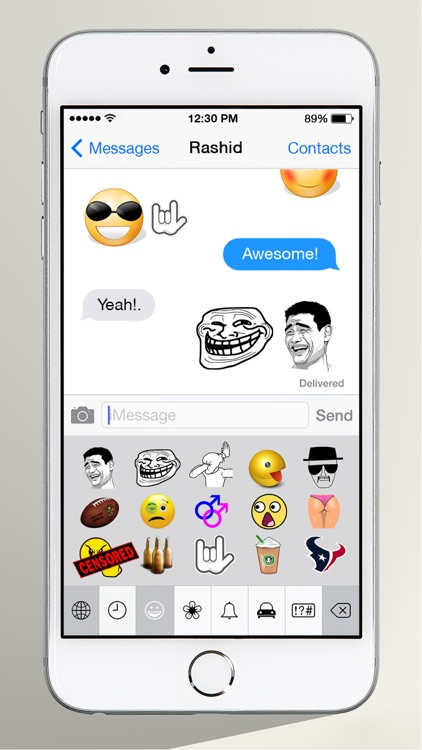 FunMoji : Extended - My Favorite Emojis screenshot-1