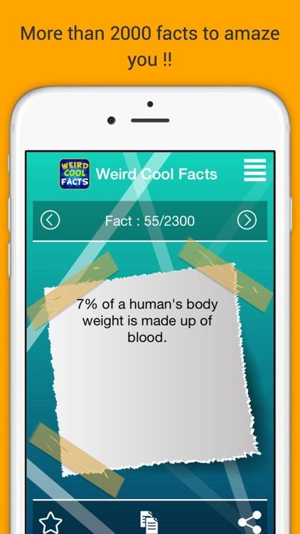 Weird Cool Facts