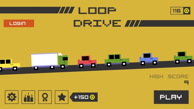 Loop Drive : Crash Race Screenshot