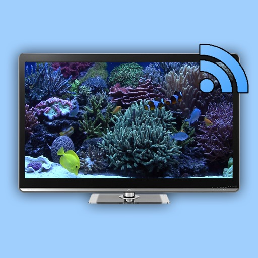 Aquarium on TV for Chromecast