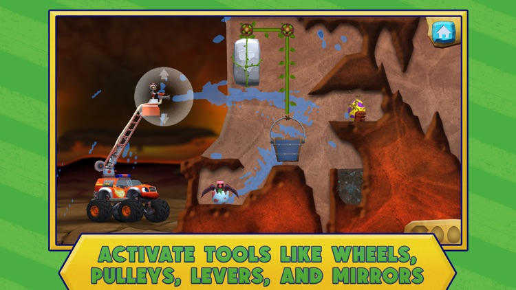 Blaze and the Monster Machines Dinosaur Rescue screenshot-3