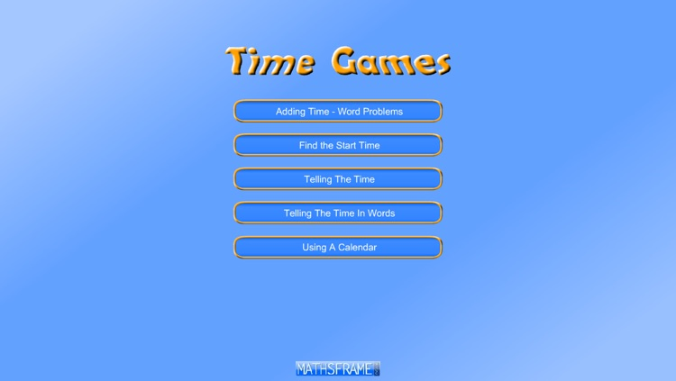 Time Games by Mathsframe Ltda