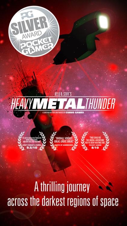 Heavy Metal Thunder - The Interactive SciFi Gamebook screenshot-0