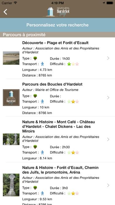 Screenshot #3 pour Office de Tourisme Neufchâtel-Hardelot Plage