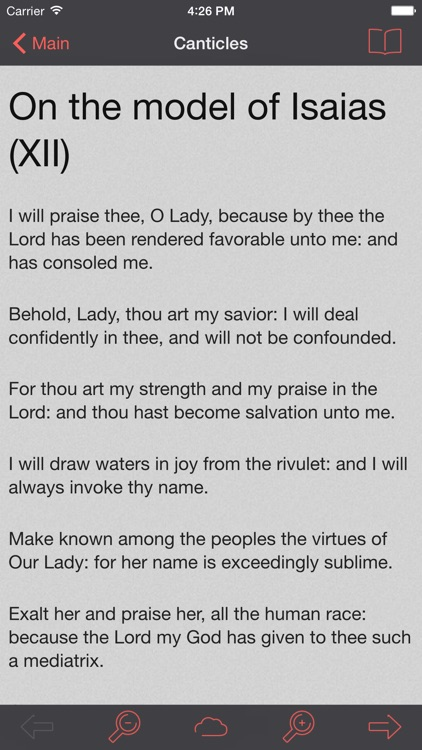 Catholic Psalter of the Blessed Virgin Mary Lite screenshot-3