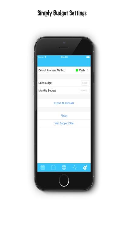 iSpent - The Easiest Spending Tracker Around screenshot-3