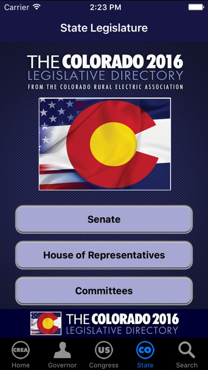 CREA 2016 Colorado Legislature