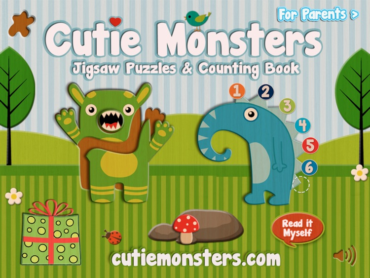 Cutie Monsters Jigsaw Puzzles screenshot-0