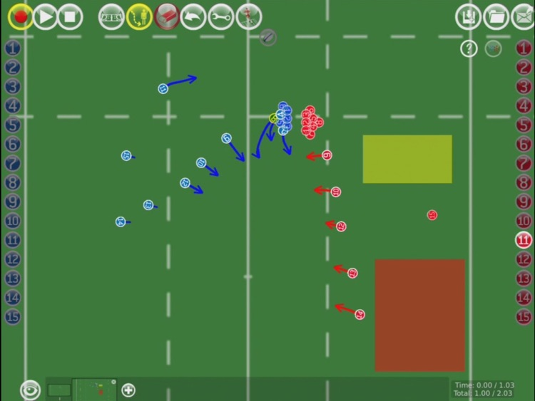 RugbyCoach3D Pro screenshot-4