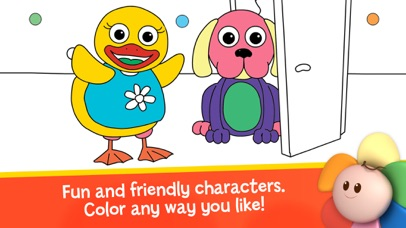 Draw Color & Play - Best Coloring Book App for Preschool Kids screenshot two