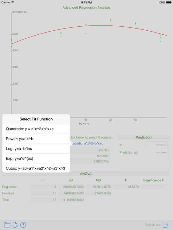 DataStat - data analysis and statistics with 3D plot free screenshot-3