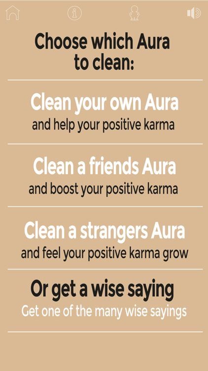 Clean your aura