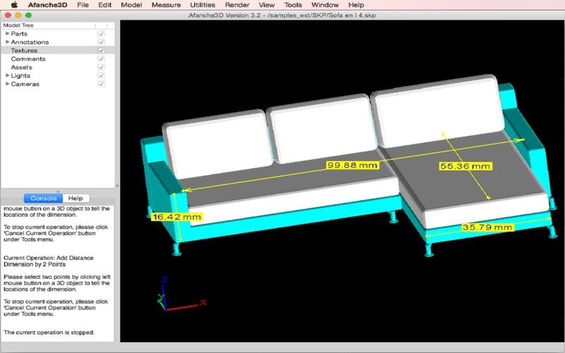 Afanche3D Pro скриншот программы 1