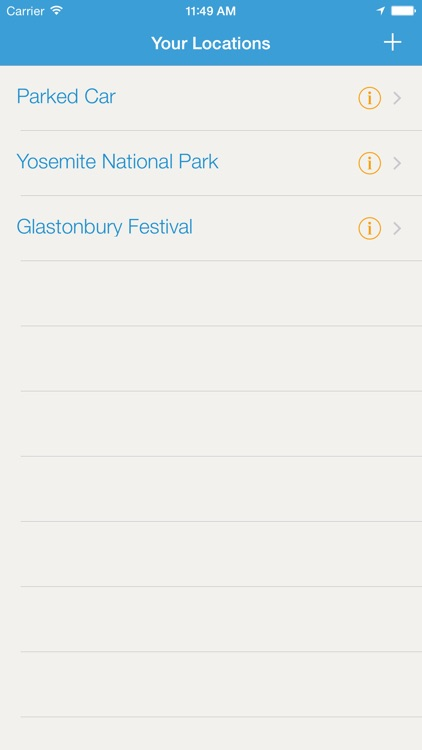 Tent Finder - V Festival, Camping & Car Locator screenshot-3