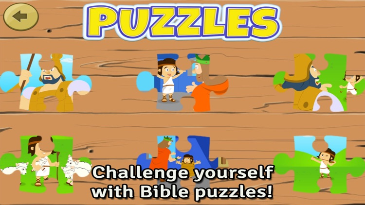 Bible Heroes: David and Goliath - Bible Story, Puzzles, Coloring, and Games for Kids