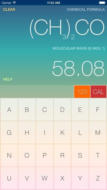 ChemCalc for Phone screenshot-3