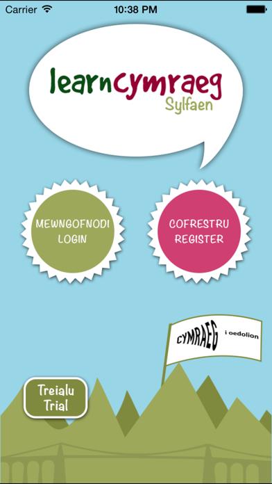 Learn Cymraeg Gogledd - Sylfaen screenshot one