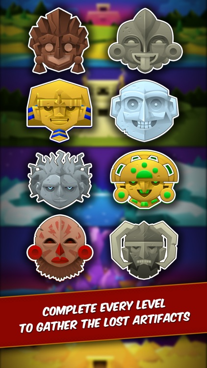 Temple Rush - Slide and Match Puzzle with Multiplayer Battles screenshot-4