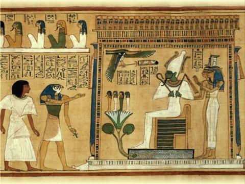 Игра Египетскии Сенет (игра Древнего Египета) Анубис приглашает вас играть за фараон Тутанхамон (король Тут) или царицу Нефертити в могила