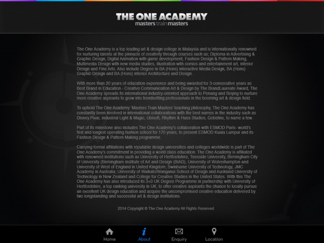 The One Brochure On The App Store
