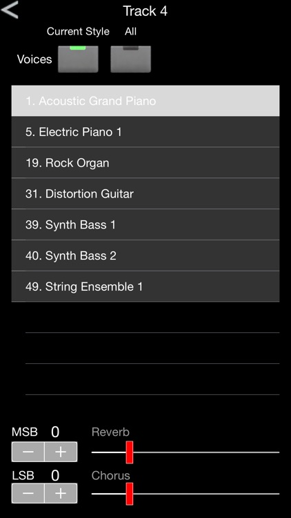 MidiBand screenshot-2
