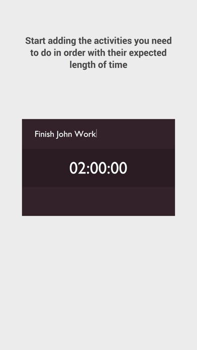 Dayflow - Finish your day activities on time Screenshot