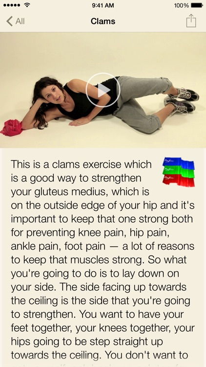 Pain Therapy: Physical Therapy Exercise Videos screenshot-4