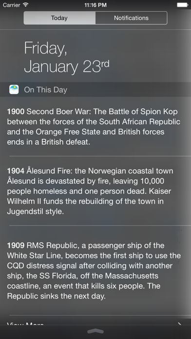On This Day In History. screenshot three