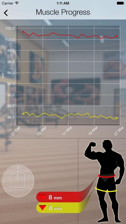 Body Progress - For Man screenshot-3
