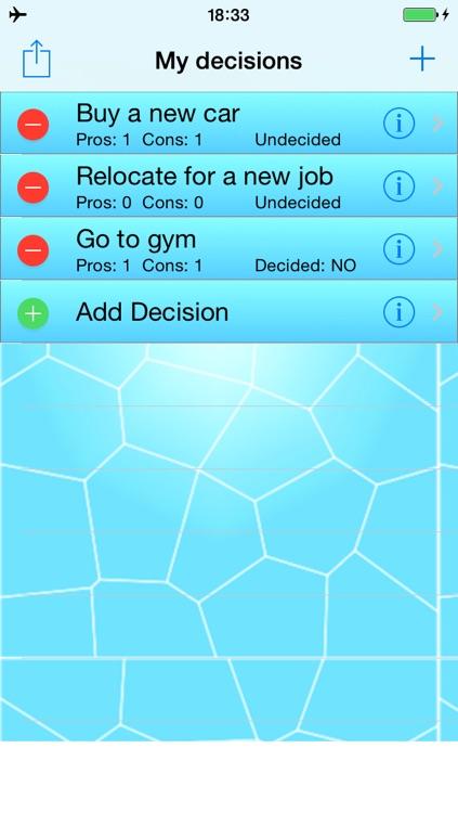 myDecisions - Decision Helper